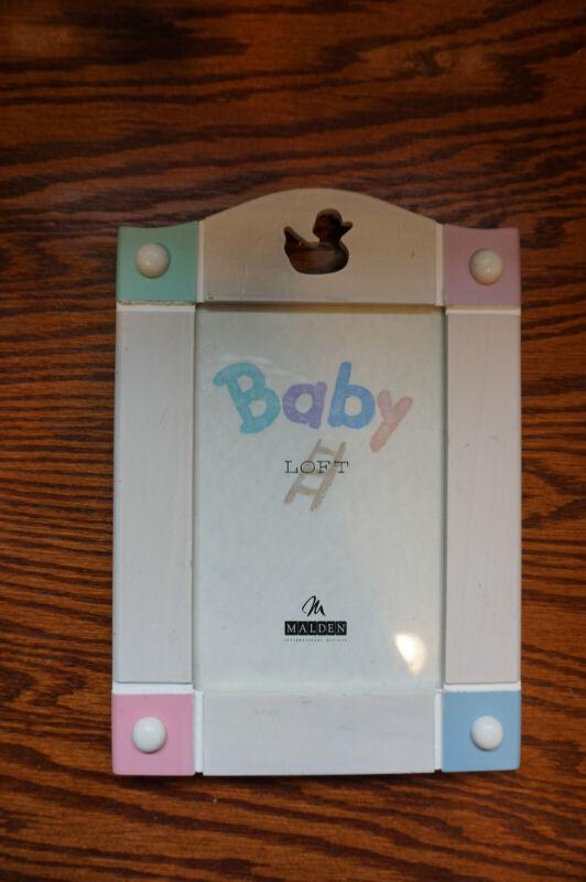 malden loft baby frame with duck 3X5