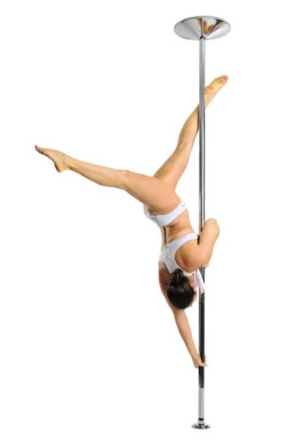 Portable Dance Pole Static  Exercise Fitness Adjustable 45mm