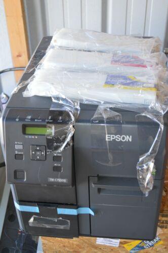 Epson M362A ColorWorks C7500G Inkjet Color Label Printer TM-C7500G