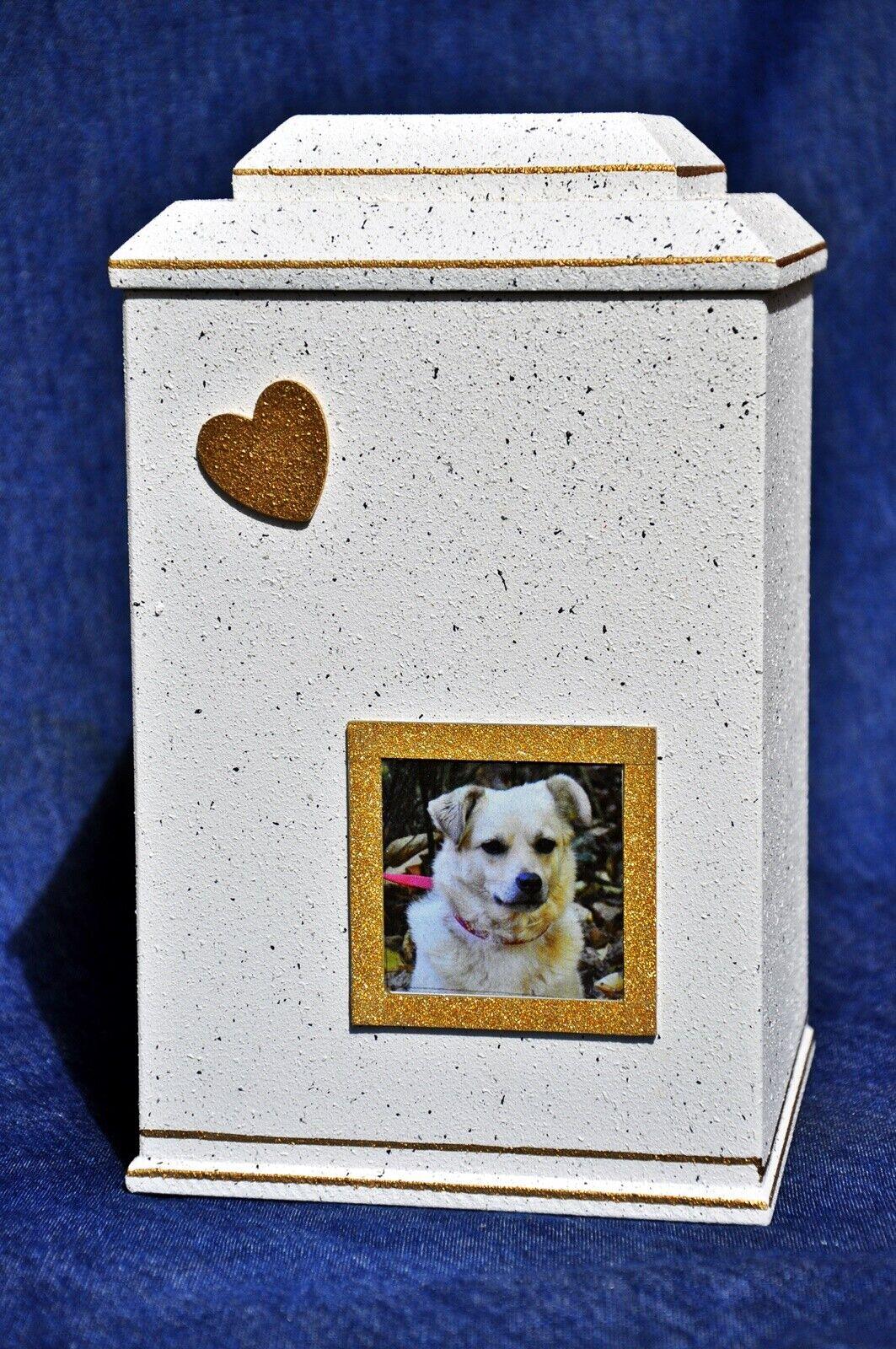 Tierurne, Hundeurne 2,3 Liter Inhalt,Granit-Optik,exclusiv