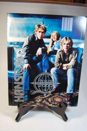 Hanson 2000 This Time Around Tour Program