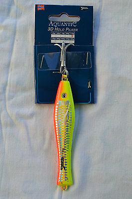 Sänger Aquantic 3D Holo Pilker 110 g Norwegenpilker Nr. 5433110 gelb/rot