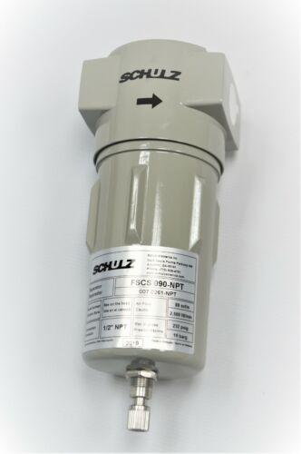 SCHULZ AIR DRYER/COMPRESSOR WATER SEPARATOR   1/2 INCH - 007.0261-NPT
