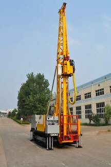 Diamond Core Drill Rig track mounted - Solid Rigs SRD-5C