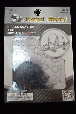 Roller coaster 3D Puzzle Metal Model Collection Hobby Facilities Toys Puzzle (Roller Coaster Models)