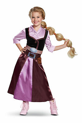 Tangled The Series Season 2 Classic Rapunzel Travel Outfit Costume for Toddlers ](Rapunzel Outfit)
