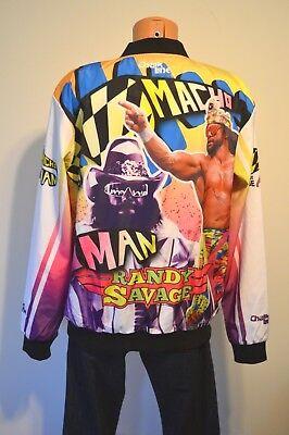 Randy Savage Jacket (New Chalk Line Macho Man Randy Savage Fanimation Jacket sz XL Rare WWW Legends)