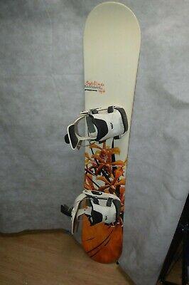 Lámina Tabla de Snowboard Rossignol Sublime 146cm + Fijación o Board Diseño Wood segunda mano  Embacar hacia Spain