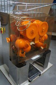 COMMERCIAL AUTO FEED ORANGE  JUICER JUICE MACHINE VAT NEW!!!!!!!!!!!
