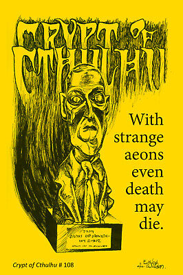 New! Crypt of Cthulhu 108 edited by Bob Price & published by Necronomicon Press!