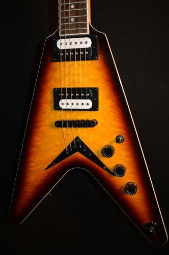 Dean VX QM Quilt Maple Trans Brazilia V Electric Guitar - Free Shipping!