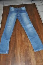 Cheap Monday Tight Flashing Used Jeans - Blue / W23 L32 Bethania Logan Area Preview