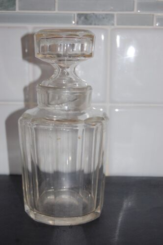 ANTIQUE IMPERIAL RUSSIAN BEAUTIFUL ART DECO STYLE DECANTER WITH STOPPER