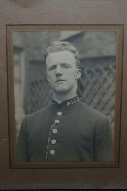 Victorian Era British Police Constable Portrait Photograph