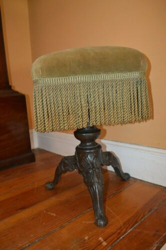 Piano or Foot Stool Late Victorian 1890