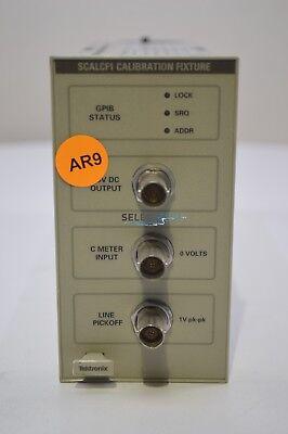 Tektronix Scalcf1 Oscilloscope Calibration Fixture Plug-in D