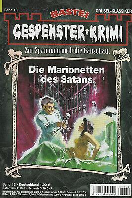 GESPENSTER-KRIMI Nr. 13 - Die Marionetten Satans - Earl Warren - NEU