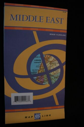 Map Link Middle East Map - 4th Printing 2005