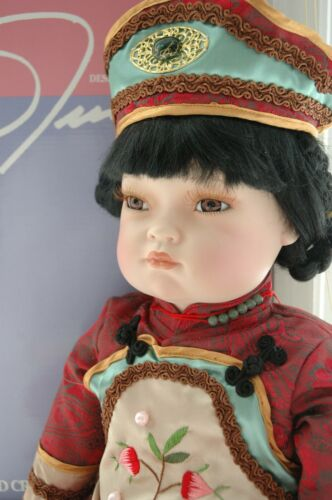 Willian Tung Chinese Pon Pon Doll 22""