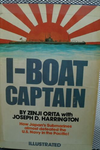 WW2 Japanese I Boat Captain Japans Submarines almost defeat US Reference Book