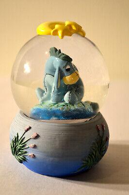 Disney Winnie the Pooh Eeyore Mini Snowglobe, No Box