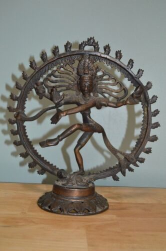 Dancing Shiva Bronze Copper Alloy Statue of Shiva Nataraja