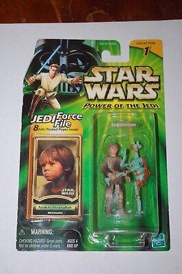 Anakin Skywalker Boy Mechanic-Star Wars Power Of The Jedi-MOC - Anakin Skywalker Boy