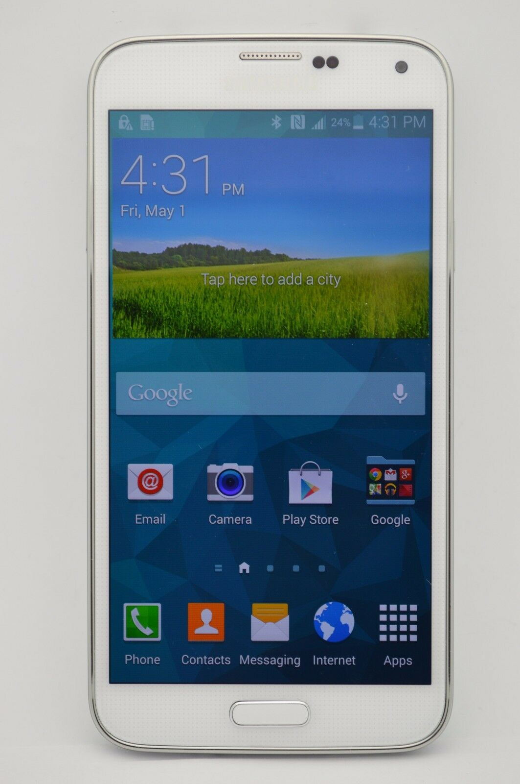 Jan 09, · The Samsung Galaxy S5 was announced in and was the company's first flagship of the year. The device featured a inch display with a resolution of x , 2GB of RAM, 16GB of storage, and a 16MP primary rear camera.