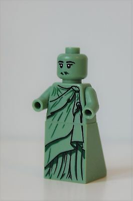 Lego Statue Lady Liberty minifig Minifigure Series 10 - no hands or crown