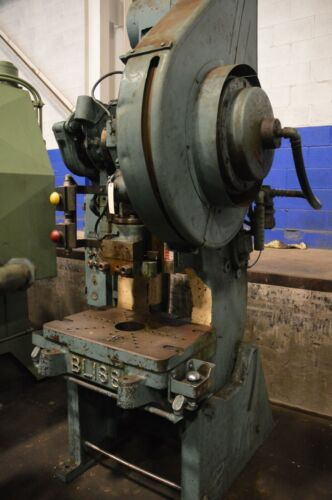 BLISS #20C OBI/SC PRESS WITH FLYWHEEL AND AIR CLUTCH   Our stock number: 113785