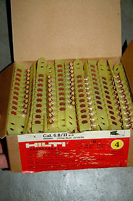 1000 Hilti 6.811 Dx 36m Level 4 Yellow Safety Cartridges Boosters 10x100 4841