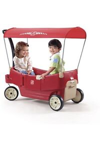 New Step 2 All Around Canopy Wagon, 1 1/2-5