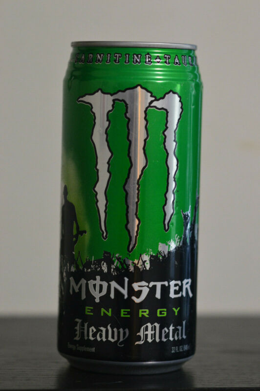 Monster Energy Drink | Heavy Metal Can 32oz | UNOPENED | Pristine Condition 2007