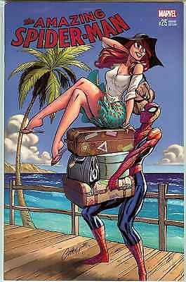 Amazing Spider-Man #25 Wondercon 2017 J Scott Campbell Variant NM