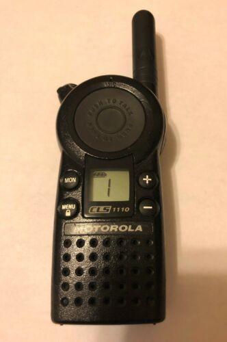 Motorola CLS1110 UHF Business 2-Way Radios Walkie Talkie