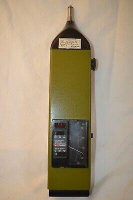 Vintage General Radio Genrad 1982 Precision Sound Level Meter Analyzer Tested