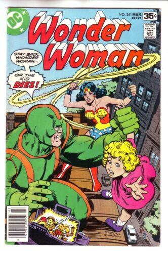 1978 DC COMICS WONDER WOMAN #241 IN VF CONDITION