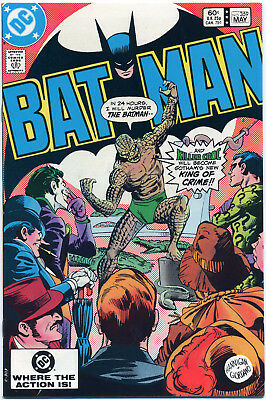 BATMAN #359 (DC 1983) VF+ FIRST PRINT BAGGED 1st COVER APPEARANCE OF KILLER CROC