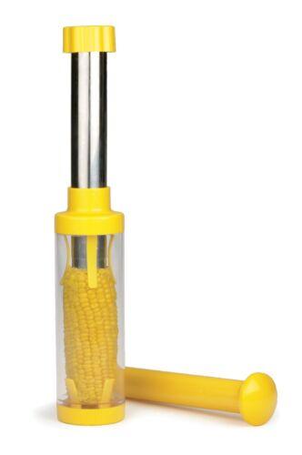 """(2) Corn Cob Kernel Remover Plunge Stripper 10.5"""" Removes Kernels from Cob"""