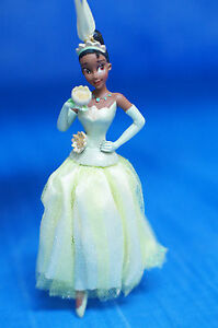 Disney Sketchbook Christmas Ornament Figurine 2012 Princess & Frog Tiana