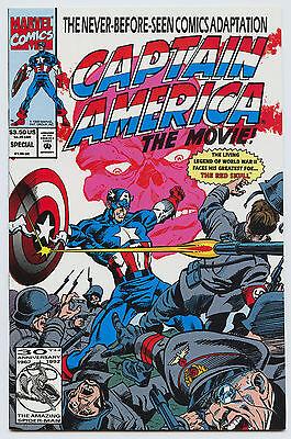 CAPTAIN AMERICA THE MOVIE SPECIAL 1992 VF/NM- 9.0 (Captain America 1992 Movie)