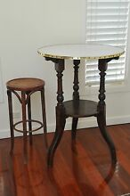 Antique French Oak Bar Pub or Kitchen Cafe Country Table c1880s Mosman Mosman Area Preview