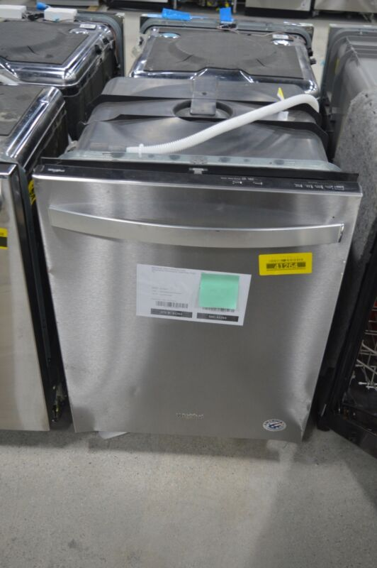 "Whirlpool 24"" Built-In Dishwasher Stainless steel WDT730PAHZ"