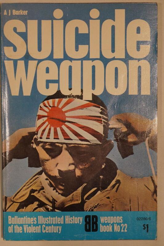 WW2 Japanese Kamikaze Suicide Weapon 22 Ballantine Reference Book