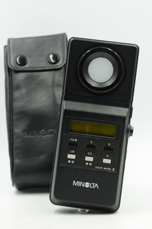 Minolta Color Meter II Light Meter #033
