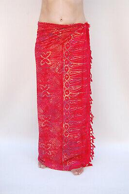 Sari Tuch (Sarong (SA357P) Premium Qualität Pareo Tuch Wickelrock Wandbehang Sari Sarongs)