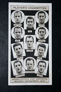 Bolton-Wanderers-1929-FA-Cup-Winning-Team-Original-1930s-Photo-Card-VGC