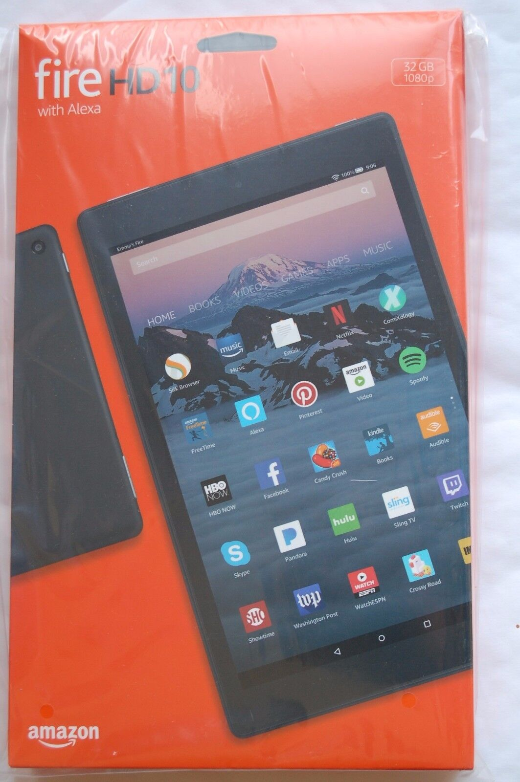 $148.88 - All New Release Amazon Kindle Fire HD 10 Tablet Full 1080p Display 32 GB – Black