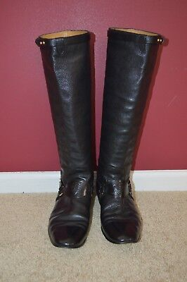 Men's Vintage Tall Gucci Boots 7 UK 7.5 US RARE #31