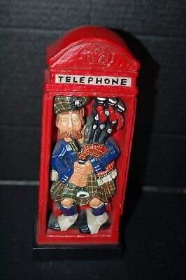 Used, David Frykman Royal Doulton English Collection DF7004RD London Telephone Booth for sale  Shipping to Canada